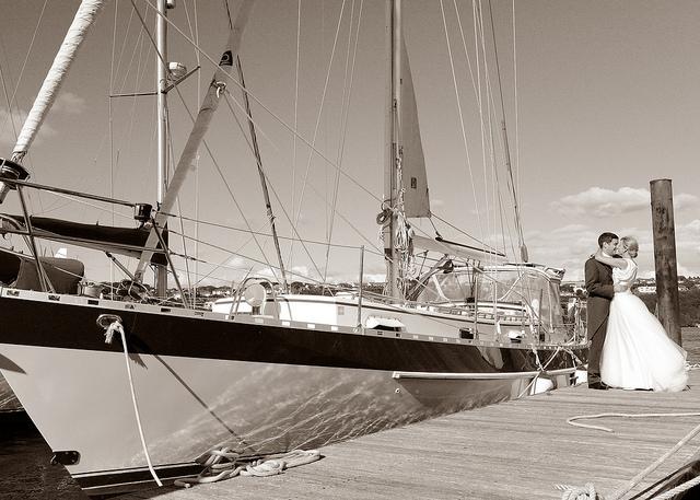 Boat Kinsale couple