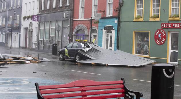 Hurricane Hits Kinsale